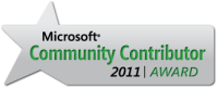 Microsoft Community Contributor Award Badge